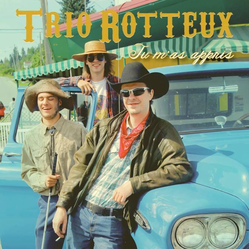 Tu m'as appris - Trio Rotteux
